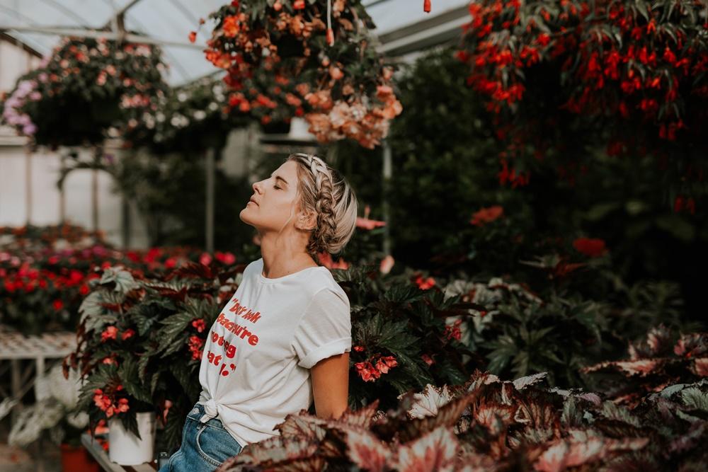 άρωμα με τριαντάφυλλα